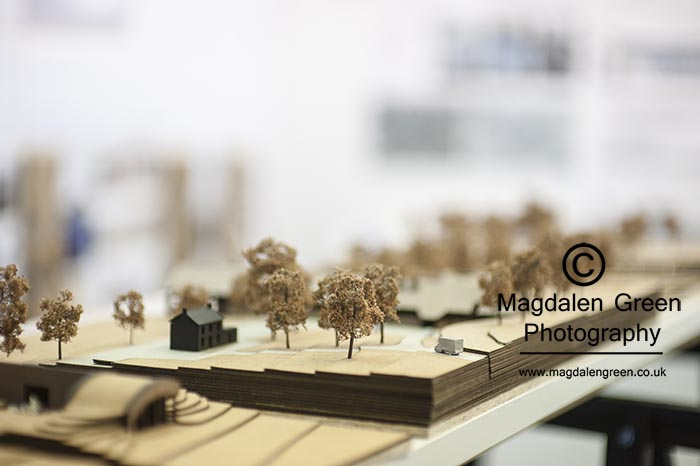 DJCAD Degree Show 2015  - Architecture  Work on Display - Univer