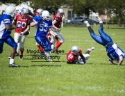 Image of Dundee Hurricanes American Football Team in Action -