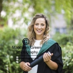 Image of student at Graduation Ceremony University of Dundee - Dundee Scotland
