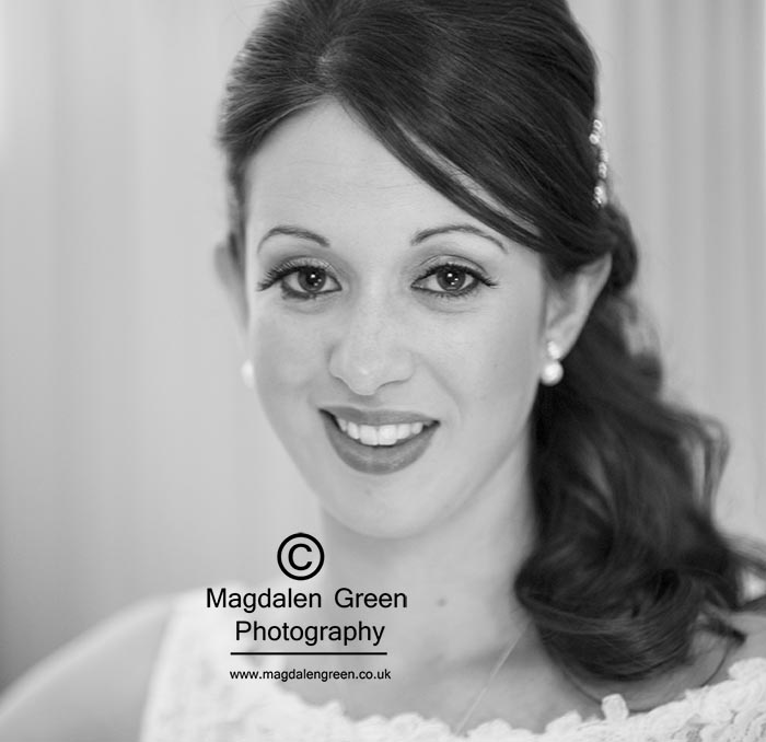 Gemma - Beautiful Bride at Wedding - Piper Dam - by Dundee Scot
