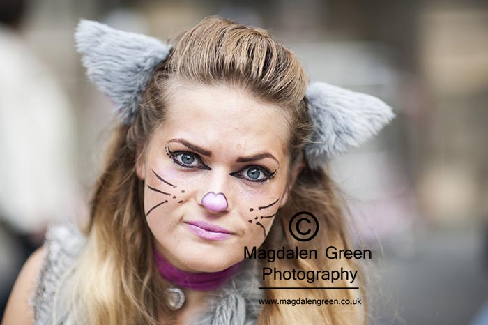 Image of Pretty Performer - Edinburgh Fringe Festival Royal Mile