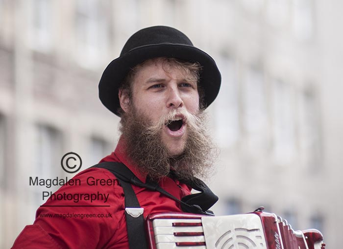 Strangely  - Roaring Accordion - Performer  - Edinburgh Fringe F