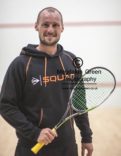 Image of Squash Champion Gregory Gaultier