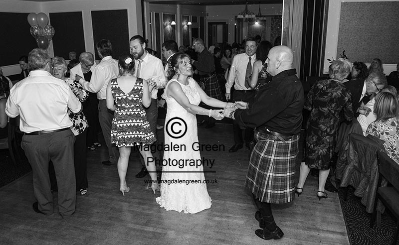 Gillian & Neil Wedding - Station Hotel Carnoustie August 2015