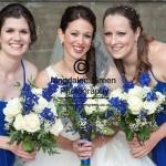 Bride and Bridesmaids - Harrop Wedding - Dundee- August 2014