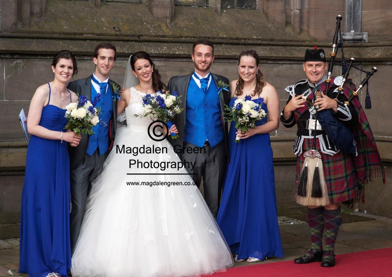 Andrew and Gemma  - Harrop Wedding - Dundee- August  2014
