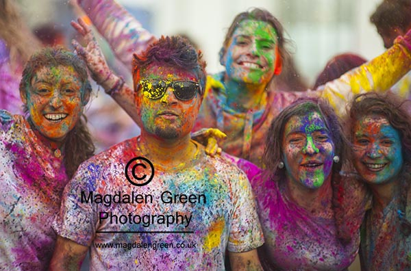 Image of Holi Festival of Colour - Campus Green - University of Dundee