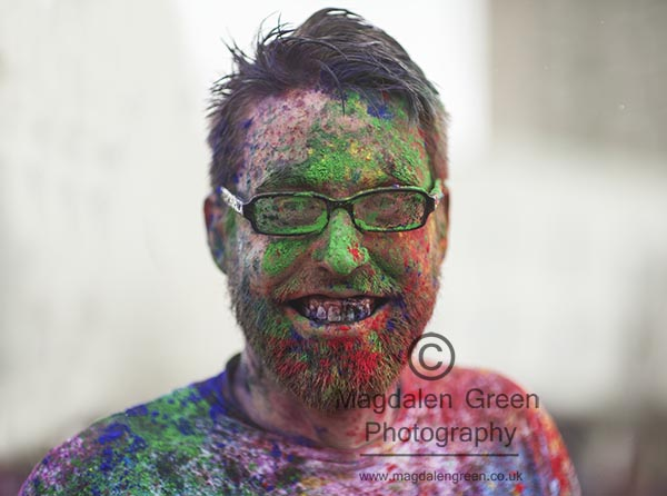 Holi Festival of Colour  - Campus Green  - University of Dundee
