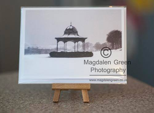 Magdalen Green Bandstand Dundee Christmas Card