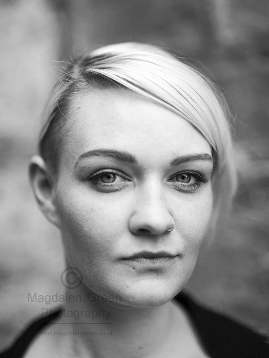 Magdalen Green Photography - Portrait Black and White - Dundee S