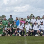 Image of teams from International Shinty at St Andrews