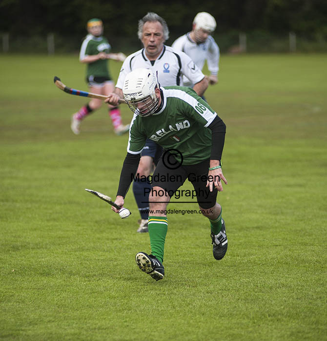 England vs Ireland Shinty/Hurling  Match - St Andrews Fife Scotl
