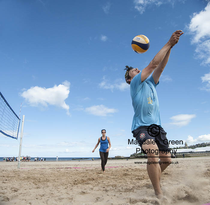 Image of Beach Volleyball - West Sands - St Andrews Fife Scotland