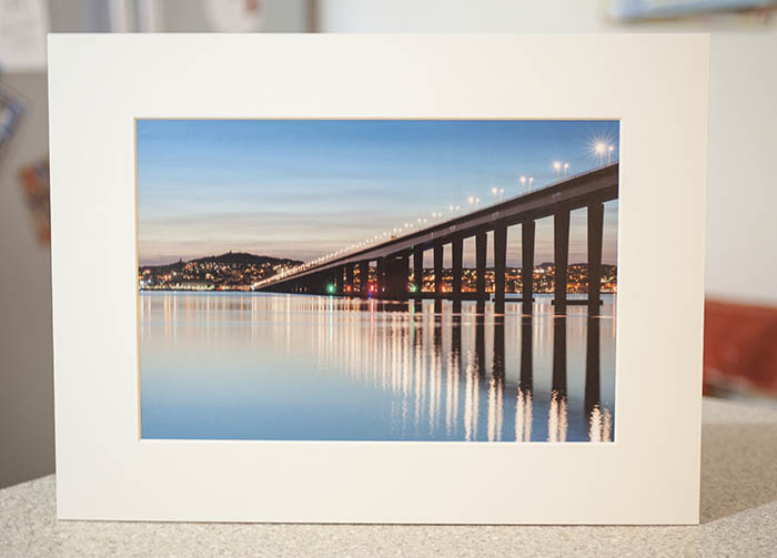 Tay Road Bridge – A4 Mounted Print – Print of the Month – October 2018