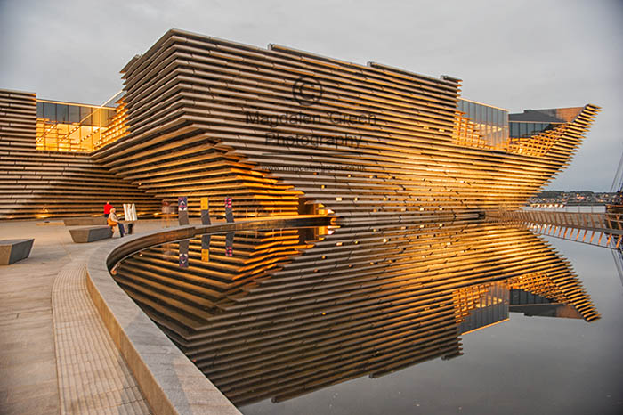 Image of Golden View - V and A Design Museum  - Dundee Scotland  -