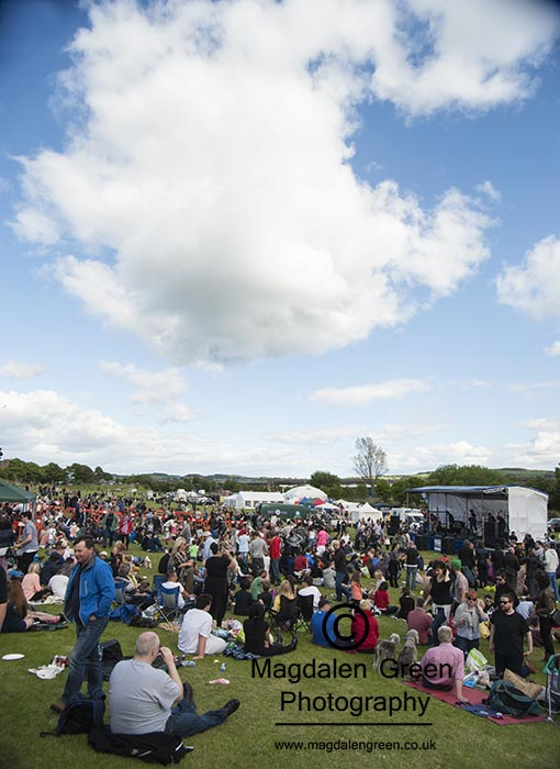 West Fest 2015  - Magdalen Green  - Dundee West End - Dundee Sco