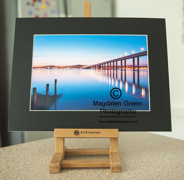Image of Tay Road Bridge A4 Mounted Print